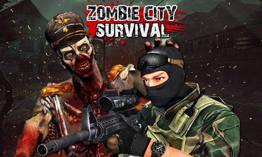 FPS殭屍之城-生存之戰 3D