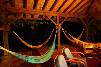 Photo: Guests can opt to rest in hammocks at anytime of the day. Some even enjoy them overnight!