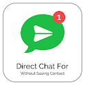 DirectChat Without Saving Contact icon