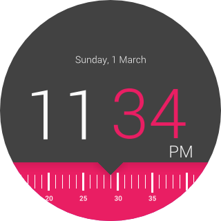 Timr Face Watch Face- screenshot