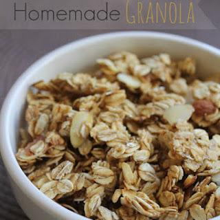 Healthier Homemade Granola
