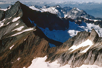 Photo: 23. Forbidden Peak and Sharkfin Tower from Mt. Sahale.