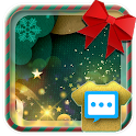 Christmas origami style skin for Handcent Next SMS icon