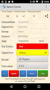 Soccer Team Tracker Free - náhled