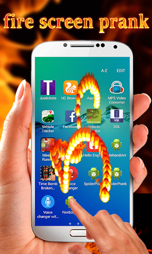 Fire Screen Simulated 5.0 screenshots 3