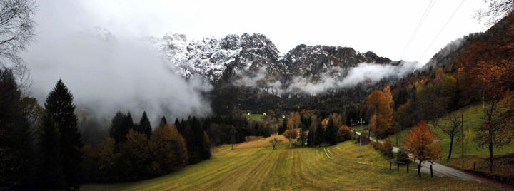Panorama d'autunno di fotozaifeltre