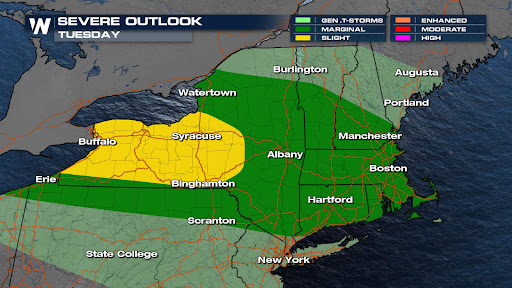 Isolated Severe Storms Possible for the Carolinas This Weekend