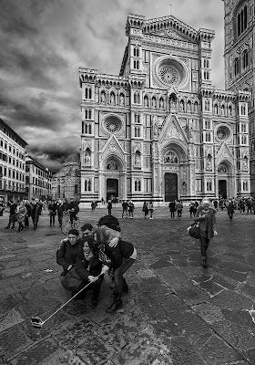 Selfie a Firenze di Livius