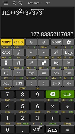 HP 35s Scientific Calculator fx 570 es plus free 3.4.6-build-02-09-2018-18-release screenshots 3