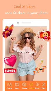 App Photo Slogan Sticker Factory - Daily Stickers APK for Windows Phone