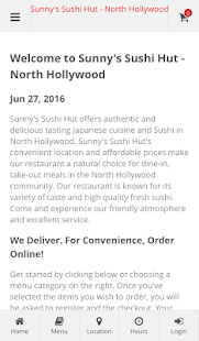 Sunny's Sushi Hut N.Hollywood- screenshot thumbnail