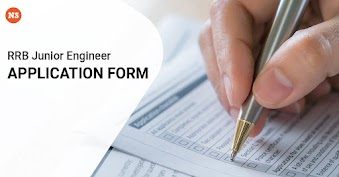 RRB Junior Engineer Application form