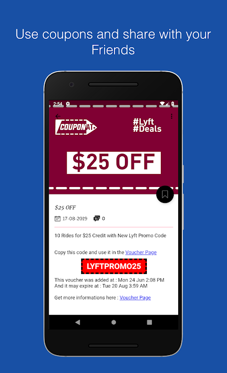 Coupons For Lyft Discount Promo Codes By Couponat Android Apps Appagg