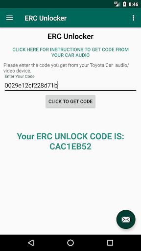 ERC Unlocker - erc calculator - ERC Decoder 1.2 screenshots 1