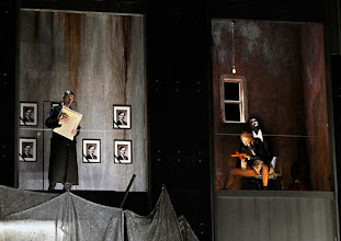Photo: Theater an der Wien: La mère coupable Oper in drei Akten von Darius Milhaud . Premiere am 8.5.2015. Pavel Strasil, Johannes Kernetter. Copyright: Barbara Zeininger