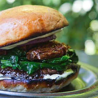 Portobello Mushroom Burger.