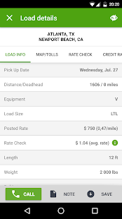 Find Truck Loads - Load Board- screenshot thumbnail