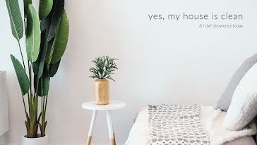 My House Is Clean - Zoom Background Template