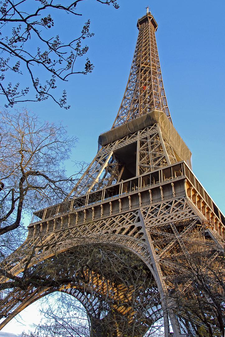Eiffel di Olaf