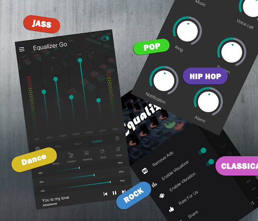 Equalizer Bass Booster Pro screenshot 1