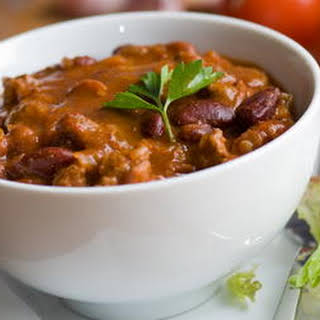 Chilly Day Chili Con Carne.
