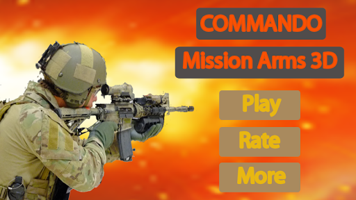 Commando Mission : Arms WW2 3D