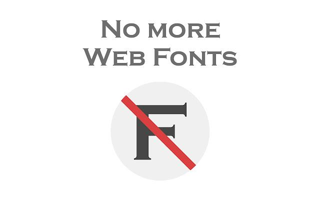 Block WebFonts