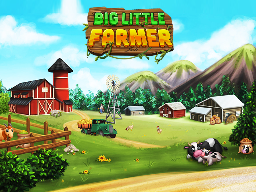 Big Little Farmer Offline Farm- screenshot