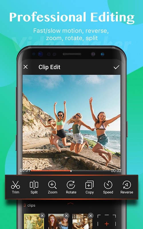 Video Maker of Photos with Music & Video Editor screenshots