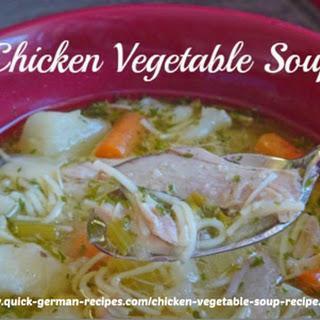 German Vegetable Soup Recipes.
