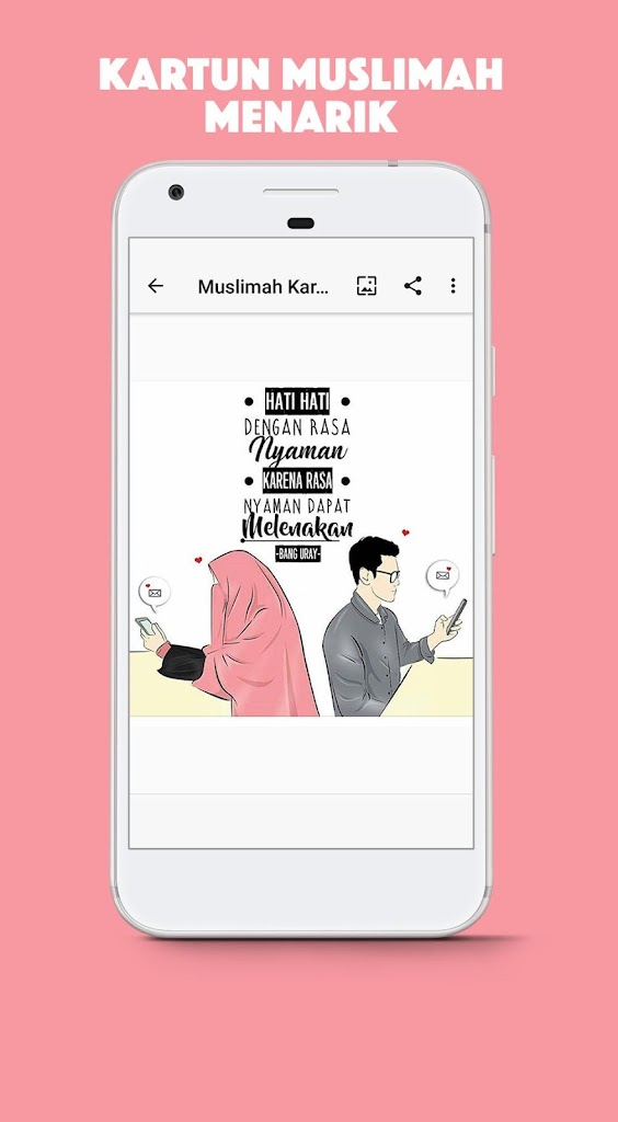 Muslimah Kartun Status Wa 1 0 Apk Download Com Andromo Dev676892 App936625 Apk Free