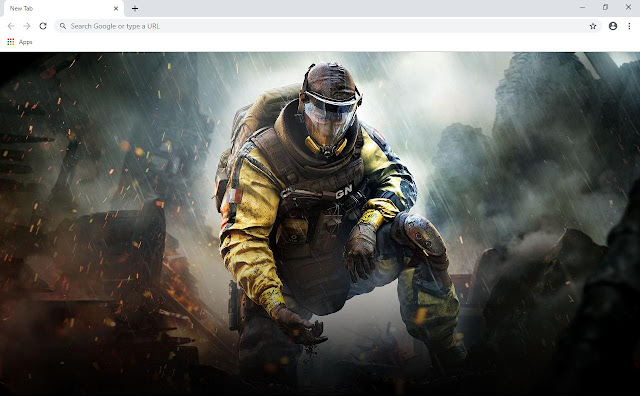 Rainbow Six Siege Game Wallpapers and New Tab