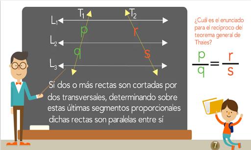 TeoremaThales semejanza trazos 1.0.0 screenshots 8
