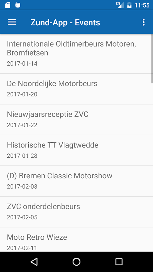 Zund-App - Zundapp: screenshot