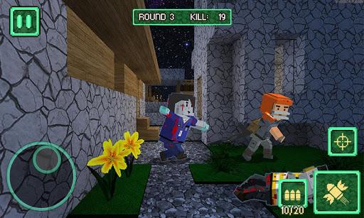 Pixel Battle City War - pixel block games screenshots 2