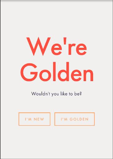 Golden For Volunteers