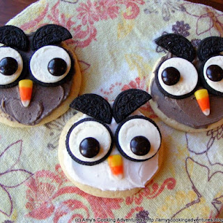 Super Soft Sugar Cookies and Little Owls!