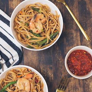 A 30 Minute Shrimp Stir Fry.