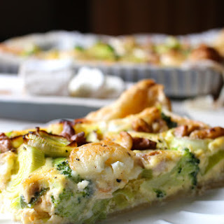 Broccoli Leek Cheese Pie Recipes