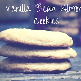 Vanilla Bean Almond Cookies