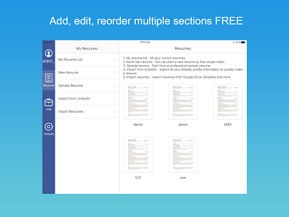 resume builder with pdf maker android apps on google play