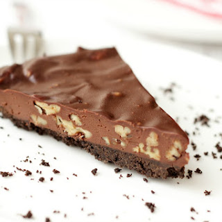 Vegan Chocolate Ganache Pecan Pie