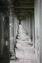 Photo: Year 2 Day 44 -  One of the Cloister Corridors