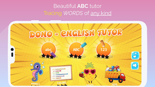 ABC, Numbers, Words, Animals, Toys Tracing  screenshots 2