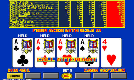 Video Poker 7.2 screenshots 4