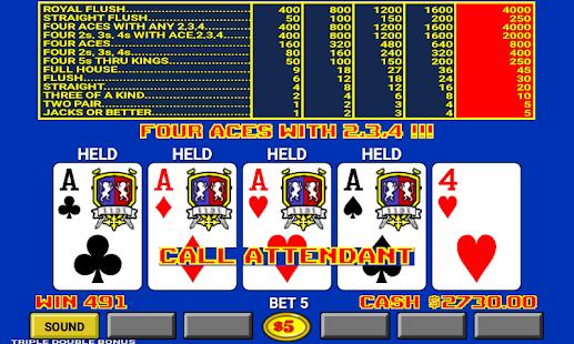 Video Poker - náhled