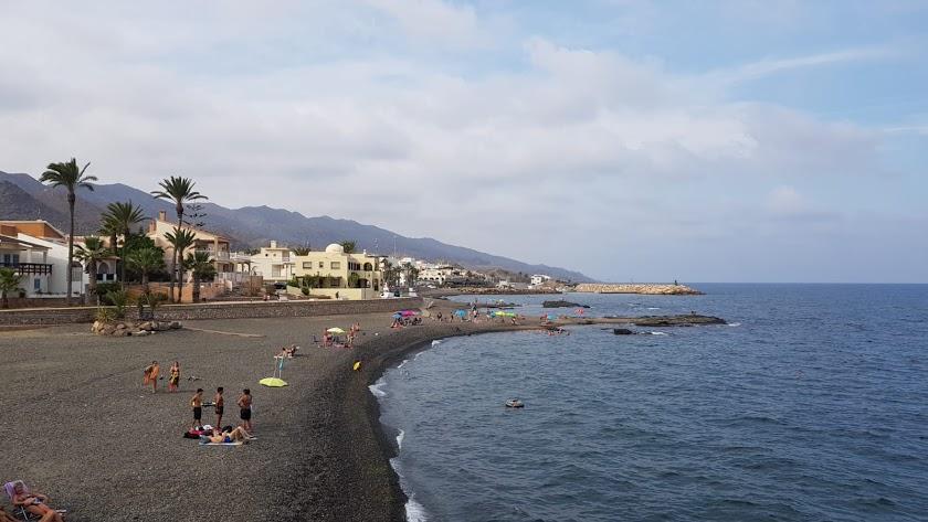 Imagen de archivo de una playa del municipio de Cuevas del Almanzora.