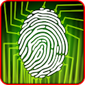 Lie Detector Fingerprint Joke icon