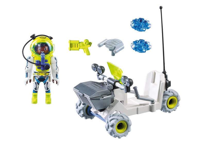 Contenido real de Playmobil® 9491 Vehículo Espacial