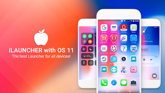 iLauncher OS 11 –  Phone X 2